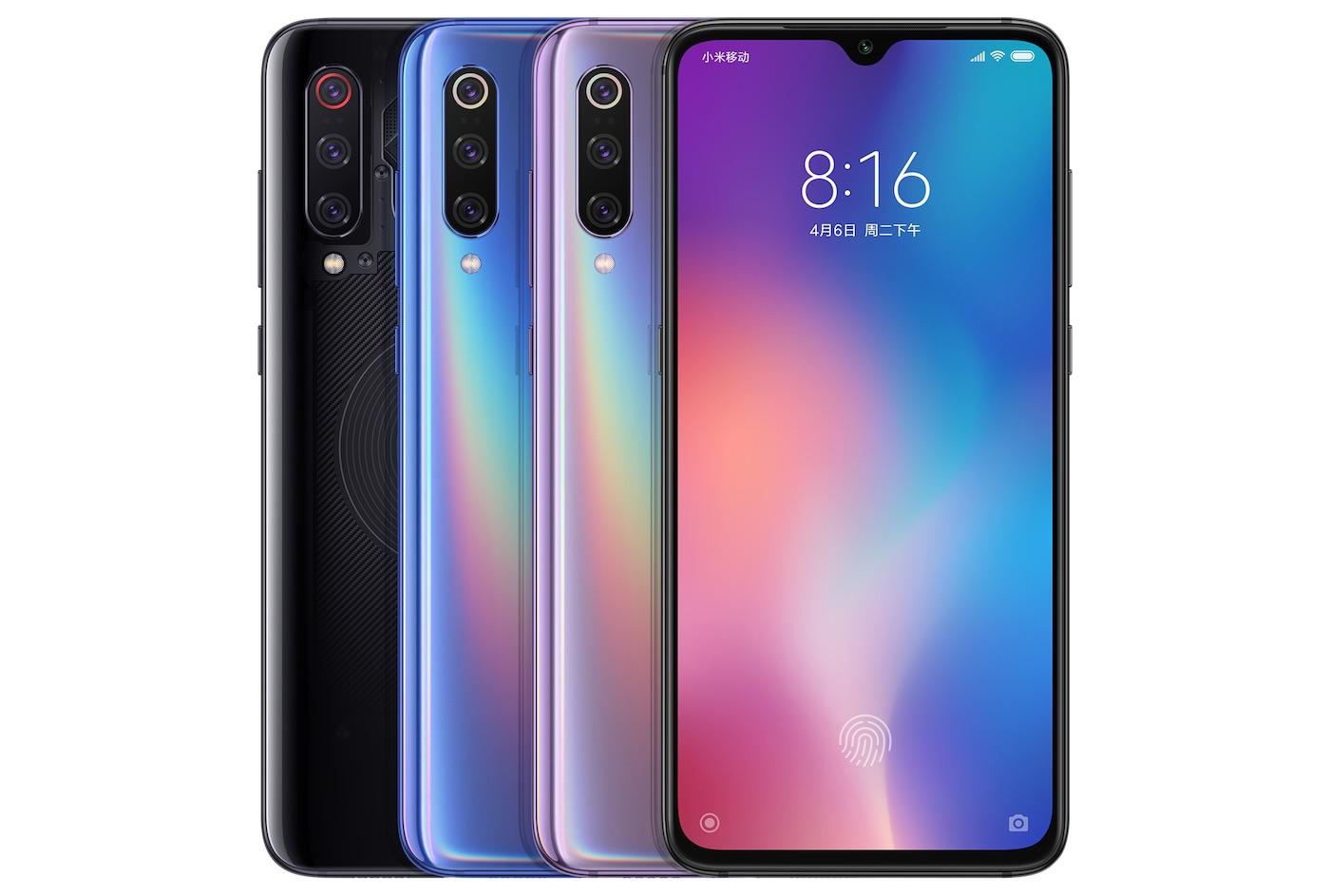 Xiaomi Mi 9 Avant Arriere 2