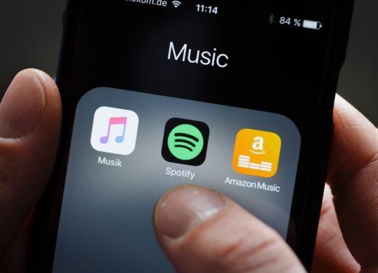 Apple Music Spotify Amazon Music