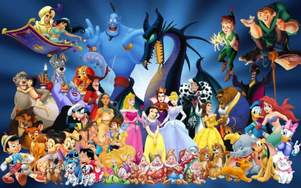 Disney Personnages 600x375