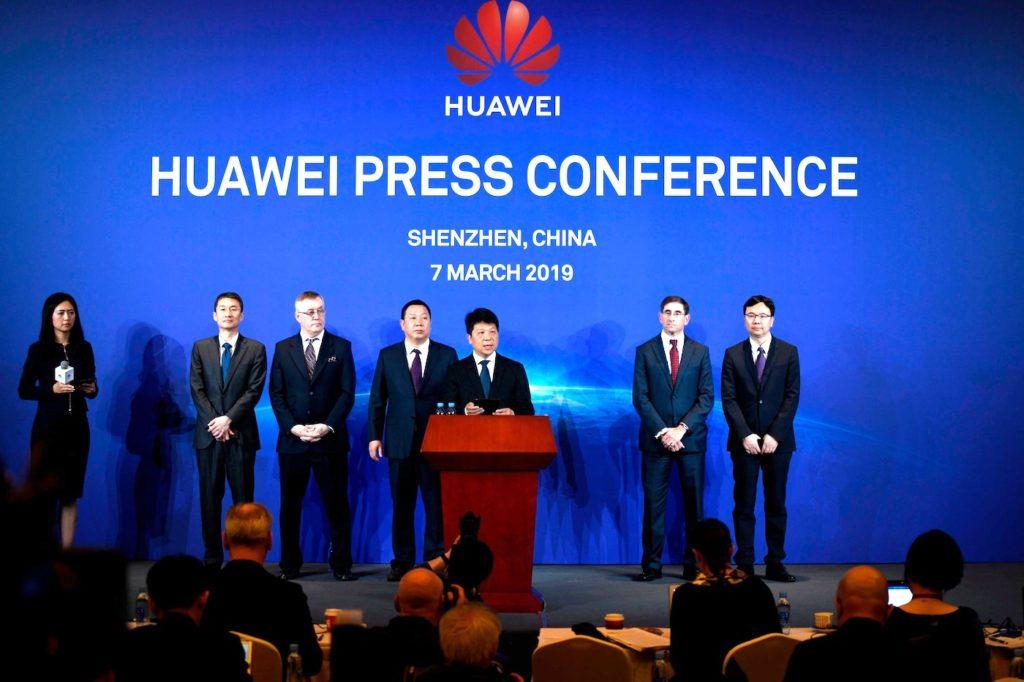 Huawei Conference Presse Poursuite Etats Unis 1024x682