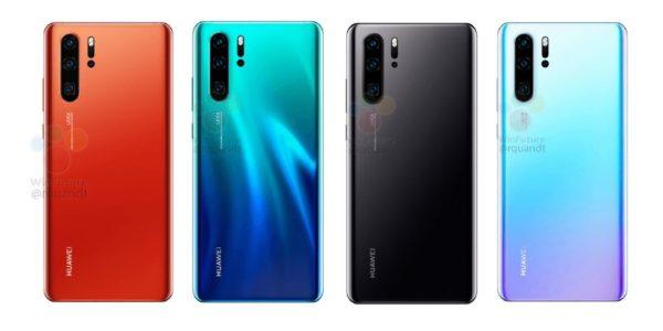 Huawei P30 Pro Lineup 600x300