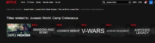 Jurassic World Camp Cretaceous 600x169