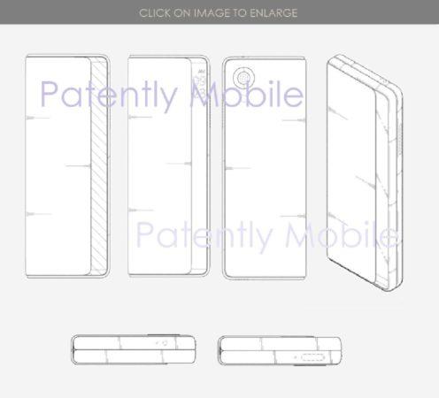 LG Smartphone Pliable Brevet 496x450