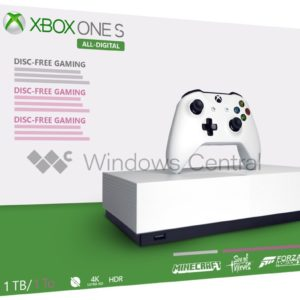 Xbox One S sans lecteur de disque : premier aperçu, date de sortie et liste des jeux offerts