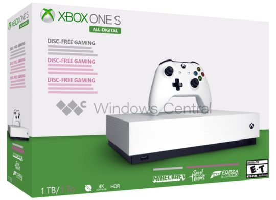 Maquette Xbox One S Sans Lecteur 2