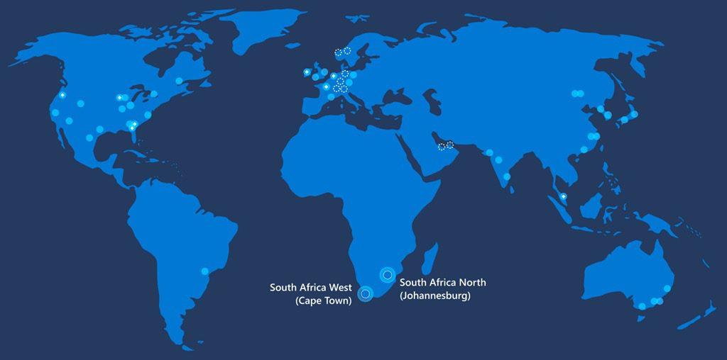 Microsoft Data Centers Afrique 1024x508