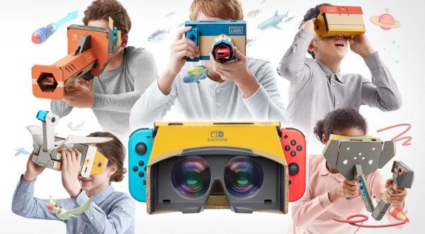 Nintendo Switch Realite Virtuel Kit Labo Complet 600x330