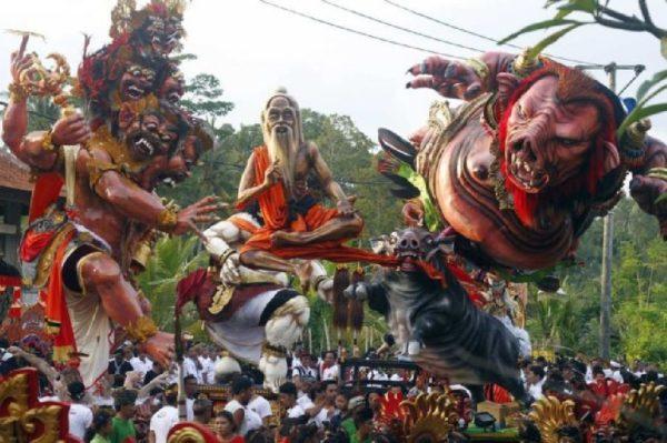 Nyepi Bali 600x399