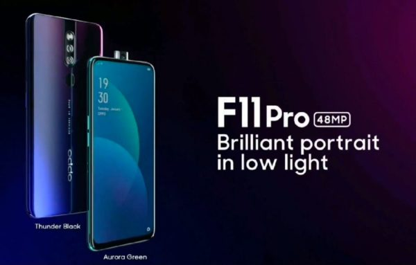 Oppo F11 Pro 600x383