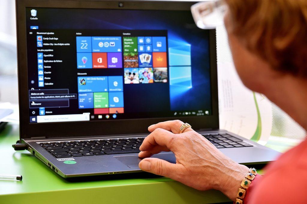Ordinateur Portable Windows 10 Menu Demarrer 1024x682