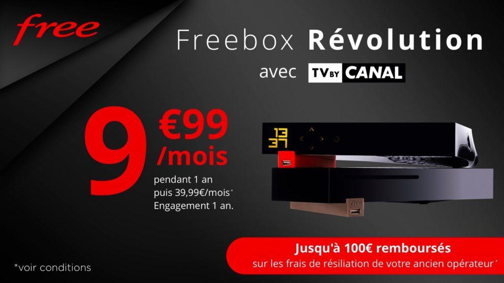 Promo Freebox Revolution Mars 2019 9.99 Euros 1024x575