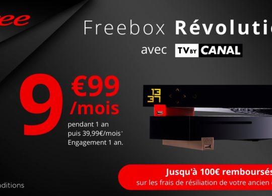 Promo Freebox Revolution Mars 2019 9.99 Euros