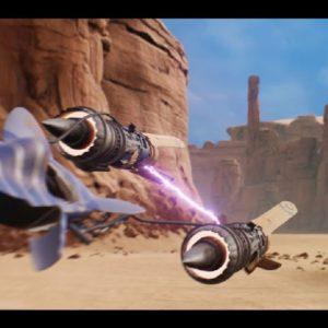 Star Wars Episode 1: Racer recréé avec le moteur Unreal Engine& par un fan (vidéo)