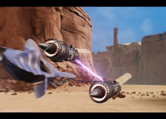 Star Wars racers unreal engine