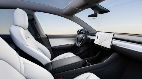 Tesla Model Y Habitacle 600x337