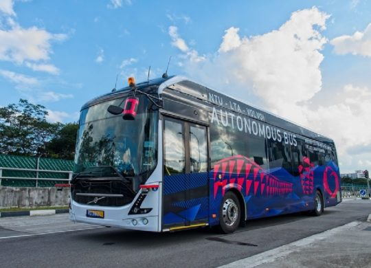 Volvo bus autonome