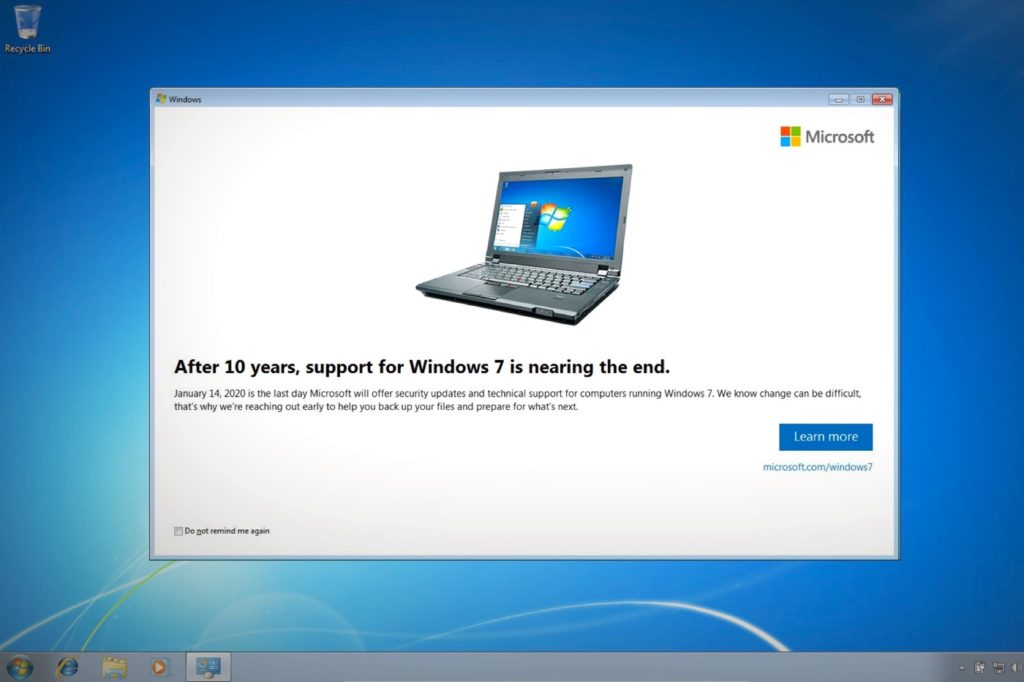 Windows 7 Alerte Abandon Support 1024x682