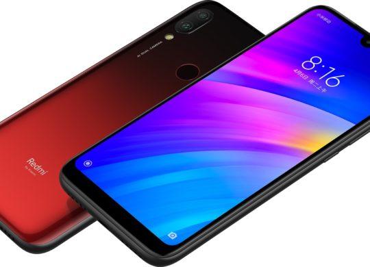 Xiaomi Redmi 7 Avant Arriere