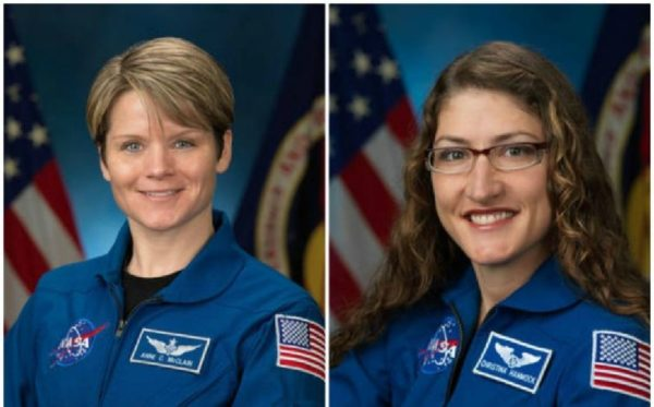 Anne Mcclain Christina Koch NASA Astronauts 600x373