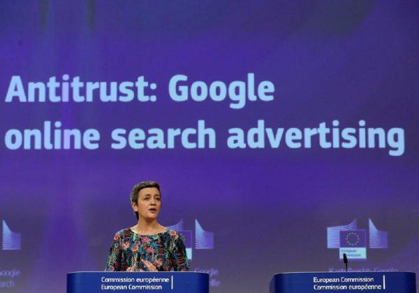 Antitrust Google Commission Europeenne 600x419