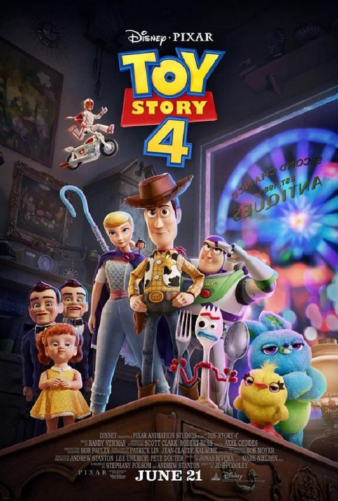 Toy Story 4 Affiche Officielle 691x1024