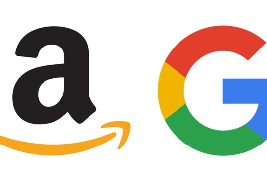 Amazon Google Logos