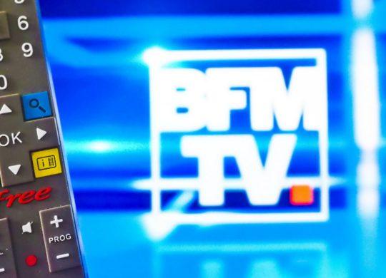 BFM TV Telecommande Freebox