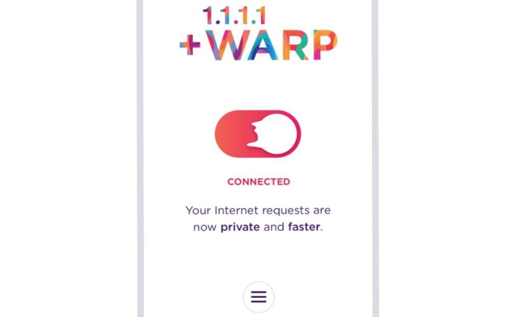 Cloudflare Warp VPN 1024x623