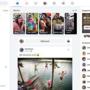Facebook proposera son nouveau design (avec le mode sombre) avant le printemps
