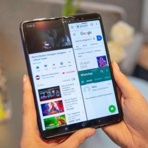 Image article Samsung : le Galaxy Fold 2 aurait le capteur photo frontal sous l'écran