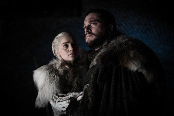 Game Of Thrones Saison 8 Daenerys Targaryen Jon Snow 600x400