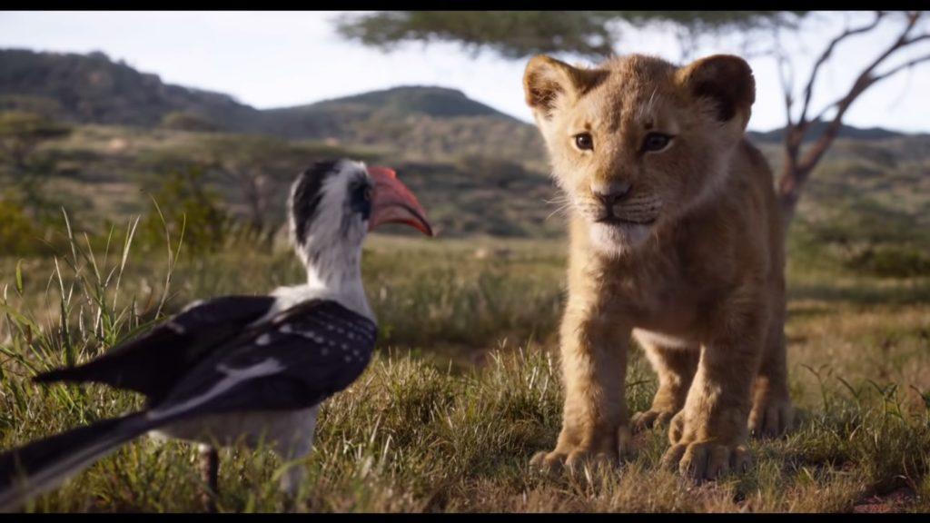 Le Roi Lion 2019 Simba Zazu 1024x576