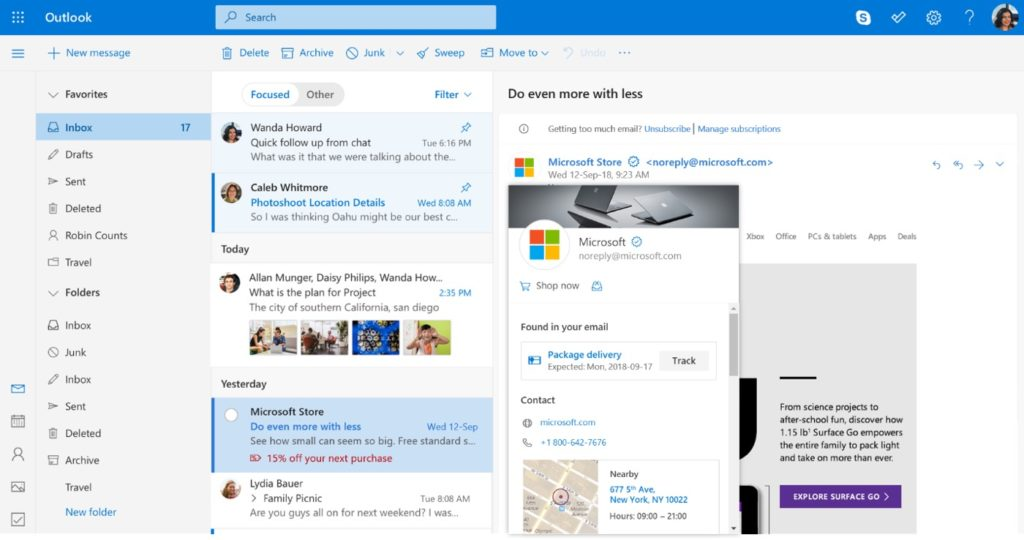 Microsoft Outlook 1024x540