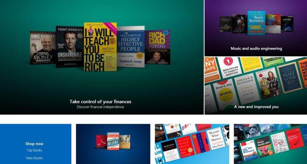 Microsoft Store Livres 1024x549