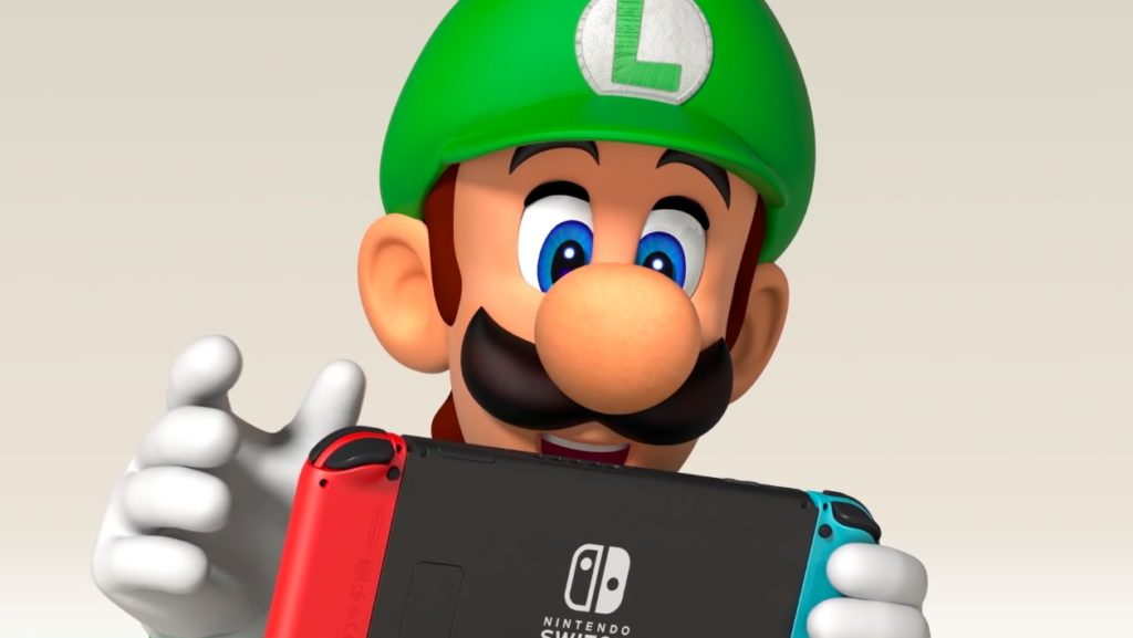 Nintendo Switch Luigi 1024x577