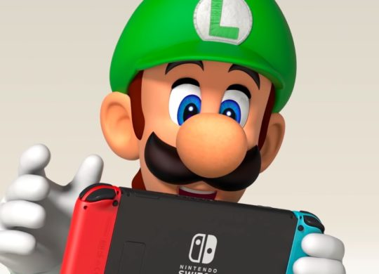 Nintendo Switch Luigi