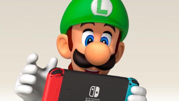Nintendo Switch Luigi 600x338