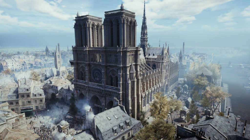 Notre Dame De Paris Assassin Creed Unity 1024x576