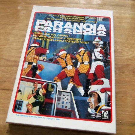 Paranoia Jeu De Role De Plateau 450x450