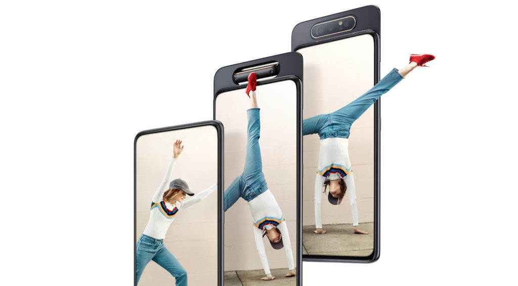 Samsung Galaxy A80 Avant 1024x566