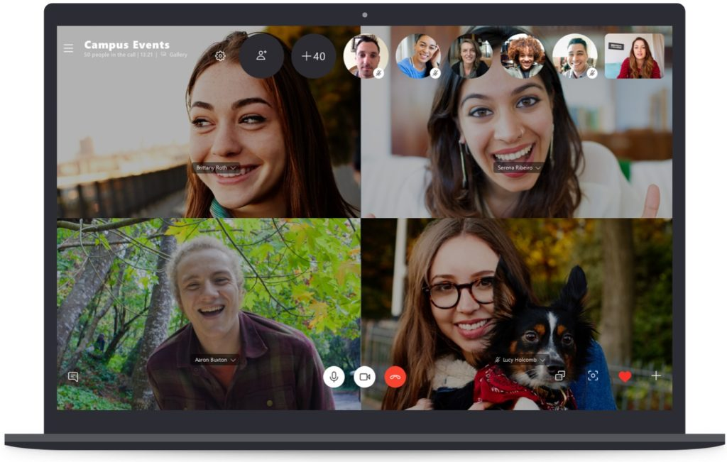 Skype Appel Groupe 50 Personnes 1024x651