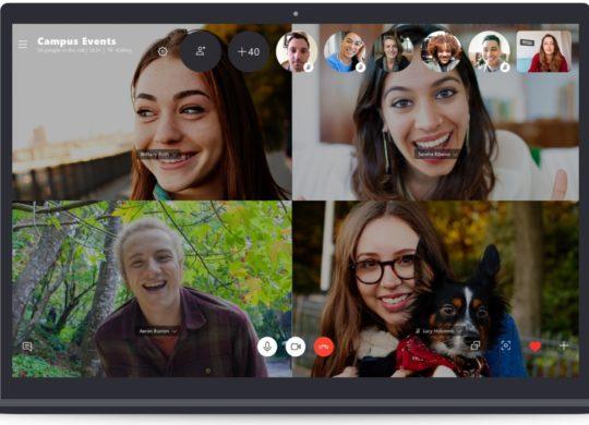 Skype Appel Groupe 50 Personnes