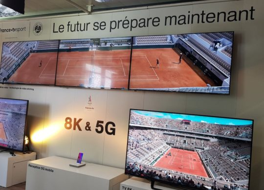 TV Direct 8K Roland Garros