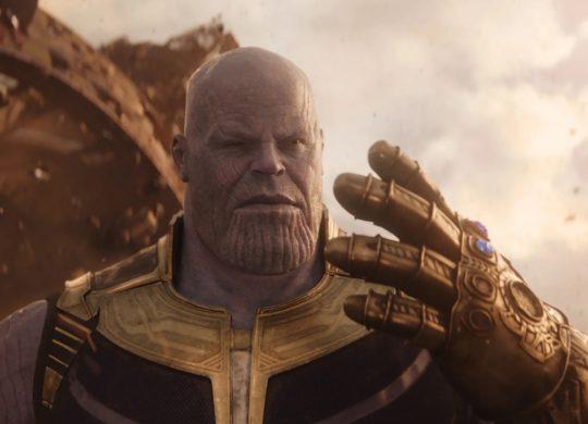 Thanos Gant Pierres Infinite