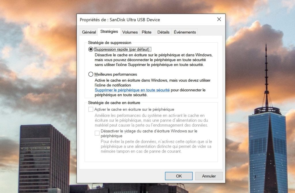 Windows 10 Retirer Cle USB Securite 1024x670