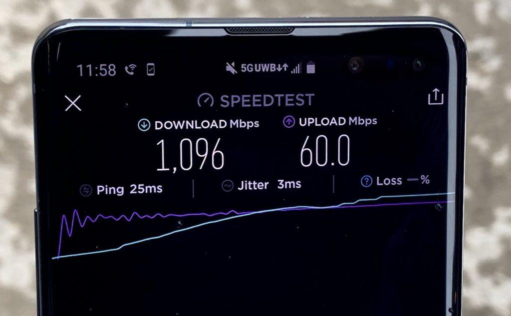 5G 1 Gbps Speedtest 1024x633