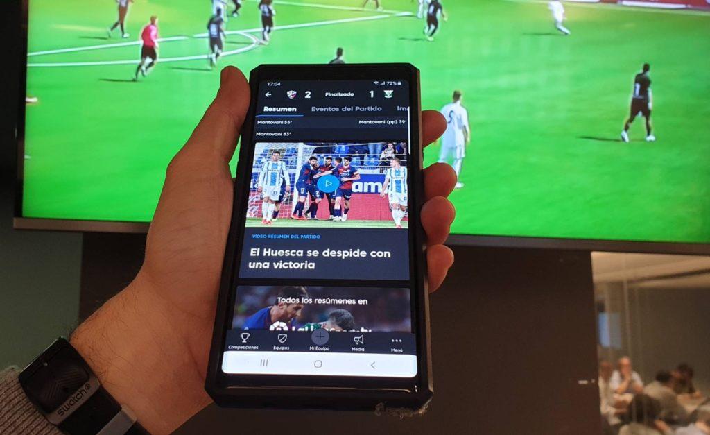 Application La Liga Football 1024x627