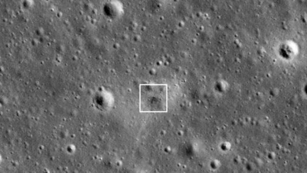 Bereshit Crash Lune Nasa 600x338