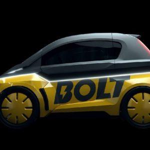 Bolt Nano : la micro-voiture électrique «sponsorisée» par Usain Bolt !