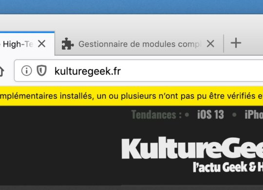 Firefox Certificat Expire Extensions Desactivees